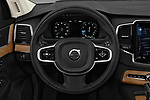 Car pictures of steering wheel view of a 2018 Volvo XC90 Inscription 5 Door SUV