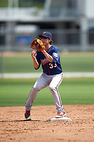 Minnesota Twins Ryan Walker (33) during a minor league Spring Training intrasquad game on March 15, 2016 at CenturyLink Sports Complex in Fort Myers, Florida.  (Mike Janes/Four Seam Images)