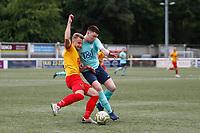 Kent FA Sunday Junior Cup Final. Blendon (blue) V Farnborough Old Boys Sunday (red & yellow)