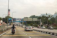 Malaysia.  Highway AH2 between Ipoh and Taiping.