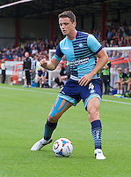 Stephen McGinn of Wycombe Wanderers during the Friendly match between Aldershot Town and Wycombe Wanderers at the EBB Stadium, Aldershot, England on 26 July 2016. Photo by Alan  Stanford.