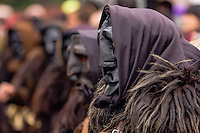 Mamuthones is a solemn ceremonial, an orderly procession and dance at the same time.Mamoiada Italy