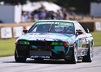 9th July 2021;  Goodwood  House, Chichester, England; Goodwood Festival of Speed; Day Two; Jake Hill drives a Nissan Skyline GT-R R32 in the Goodwood Hill Climb