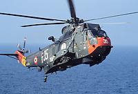 - Italian Navy, antisubmarine helicopter SH-3D....- Marina militare italiana, elicottero antisommergibili SH-3D