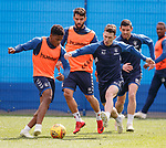 03.05.2019 Rangers training: Dapo Mebude, Daniel Candeias, Ryan Jack and Graham Dorrans
