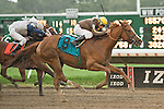 22-AUG-10: Love That Dance, Elvis Trujillo up, wins the Trenton Stakes.