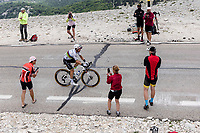 World Champion Julian Alaphilippe (FRA/Deceuninck-Quick Step) on the Mont Ventoux<br /> <br /> Stage 11 from Sorgues to Malaucène (198.9km)<br /> 108th Tour de France 2021 (2.UWT)<br /> <br /> ©kramon