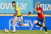 SPAIN v COLOMBIA. INTERNATIONAL FRIENDLY MATCH.