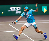 Rotterdam, The Netherlands, 6 march  2021, ABNAMRO World Tennis Tournament, Ahoy,  <br /> Semi final doubles: Horia Tecau (ROU).<br /> Photo: www.tennisimages.com/henkkoster