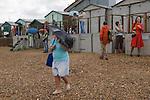 Whitstable Kent Summer rain. UK
