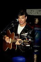Montreal (Qc) CANADA - 1992 File Photo-<br /> <br /> Singer Roch Vosine <br /> <br /> -Photo (c)  Images Distribution<br /> <br /> <br />  - PHOTO D'ARCHIVE :  Agence Quebec Presse