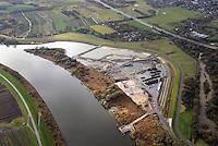 Kreetsand: EUROPA, DEUTSCHLAND, HAMBURG 21.11.2016:   Tiedeelbe Konzept Kreetsand, Hamburg Port Authority (HPA), soll auf der Ostseite der Elbinsel Wilhelmsburg zusaetzlichen Flutraum für die Elbe schaffen. Das Tidevolumen wird durch diese strombauliche Massnahme vergroessert und der Tidehub reduziert. Gleichzeitig ergeben sich neue Moeglichkeiten für eine integrative Planung und Umsetzung verschiedenster Interessen und Belange aus Hochwasserschutz, Hafennutzung, Wasserwirtschaft, Naturschutz und Naherholung.