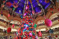 L'INAUGURATION DES DECORATIONS DE NOEL AUX GALERIES LAFAYETTE HAUSSMANN A PARIS, FRANCE, LE 08/11/2017.