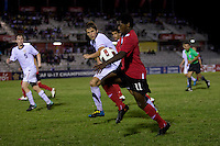 Zachary Carroll, Christopher Nanco. The United States defeated Canada, 3-0, during the final game of the CONCACAF Men's Under 17 Championship at Catherine Hall Stadium in Montego Bay, Jamaica.
