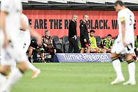 30th December 2020; Bankwest Stadium, Parramatta, New South Wales, Australia; A League Football, Western Sydney Wanderers versus Macarthur FC; Carl Robinson coach of Western Sydney Wanderers before kick off