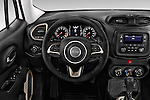 Car pictures of steering wheel view of a2017 JEEP Renegade Sport 5 Door Suv Steering Wheel