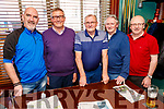 Ed O'Connor, Gerard and Adrian O'Sullivan, Eamon and John Hickey working hard behind the scenes celebrating the Cheltenham Races in the Castle Bar on Thursday.