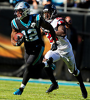 Photography of the Carolina Panthers v. The Atlanta Falcons during their Sunday afternoon  NFL game at Bank of America Stadium in Charlotte, NC.<br /> <br /> Charlotte Photographer - PatrickSchneiderPhoto.com