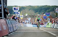 race winner Sophie De Boer (NLD)<br /> <br /> GP Mario De Clercq<br /> Hotondcross 2014