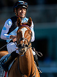 November 1, 2019: Sharing, ridden by Manuel Franco, wins the Breeders' Cup Juvenile Fillies Turf on Breeders' Cup World Championship Friday at Santa Anita Park on November 1, 2019: in Arcadia, California. Michael McInally/Eclipse Sportswire/CSM