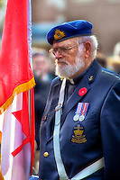 Oakville Remembrance Day Ceremonies at George's Square, November 11, 2012.