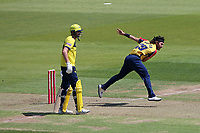 Shane Snater in bowling action for Essex during Hampshire Hawks vs Essex Eagles, Vitality Blast T20 Cricket at The Ageas Bowl on 16th July 2021
