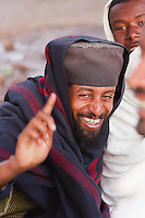 Coptic Orthodox priest in Lalibela Ethiopia