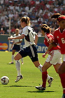 Cindy Parlow, USA vs. Canada at the Third Place Match of the FIFA Women's World Cup USA 2003. USA 3, Canada, 1. (October 11, 2003). .