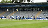 Fototermin SV Darmstadt 98 - 27.08.2020: SV Darmstadt 98 Mannschaftsfoto, Stadion am Boellenfalltor, 2. Bundesliga, emonline, emspor<br /> <br /> DISCLAIMER: <br /> DFL regulations prohibit any use of photographs as image sequences and/or quasi-video.