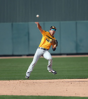 Cole Roberts takes part in the 2019 Under Armour Pre-Season All-America Tournament at the Chicago Cubs and Oakland Athletics training complexes on January 19-20, 2019 in Mesa, Arizona (Bill Mitchell)