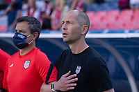 DENVER, CO - JUNE 3: USA head coach Gregg Berhalter during a game between Honduras and USMNT at EMPOWER FIELD AT MILE HIGH on June 3, 2021 in Denver, Colorado.
