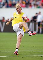 Paul Scholes. Manchester United defeated Philadelphia Union, 1-0.
