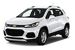 2018 Chevrolet Trax LT 5 Door SUV angular front stock photos of front three quarter view