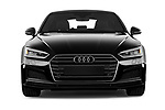 Car photography straight front view of a 2019 Audi A5-Sportback Premium 5 Door Hatchback Front View