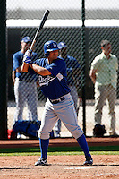 Matt Berezay - Los Angeles Dodgers - 2009 spring training.Photo by:  Bill Mitchell/Four Seam Images