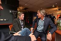 VOETBAL: HEERENVEEN: Abe Lenstra Stadion, 17-05-2018, SC Heerenveen, Presentatie nieuwe hoofdtrainer Jan Olde Riekerink, rechts Hans Westerhof, ©foto Martin de Jong