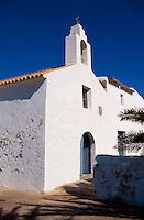Spanien, Balearen, Ibiza, Kirche in Sant Francesc de s'Estany