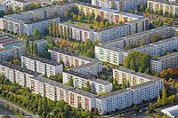 Grosssiedlung Grosser Dreesch: DEUTSCHLAND, MECKLENBURG-VORPOMMERN, SCHWERIN, (GERMANY, MECKLENBURG POMERANIA), 08.09.2011:Grosssiedlung Grosser Dreesch
