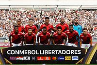11th March 2020; Estadio Monumental David Arellano; Santiago, Chile; Copa Libertadores, Colo Colo versus Athletico Paranaense; Players of Athletico Paranaense poses for the team squad photo