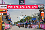 Maglia Ciclamino French Champion Arnaud Demare (FRA) Groupama-FDJ wins Stage 11 of the 103rd edition of the Giro d'Italia 2020 running 182km from Porto Sant'Elpidio to Rimini, Italy. 14th October 2020.  <br /> Picture: LaPresse/Gian Mattia D'Alberto | Cyclefile<br /> <br /> All photos usage must carry mandatory copyright credit (© Cyclefile | LaPresse/Gian Mattia D'Alberto)