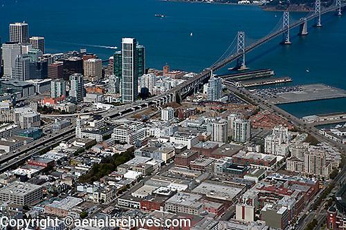 aerial photograph South Beach San Francisco, California