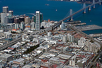 aerial photograph South Beach San Francisco, California