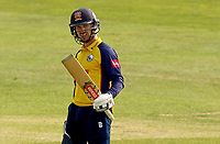 Adam Wheater of Essex celebrates scoring fifty runs during Essex Eagles vs Surrey, Vitality Blast T20 Cricket at The Cloudfm County Ground on 11th September 2020
