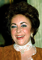 Elizabeth Taylor 1980s Photo By Adam Scull/PHOTOlink