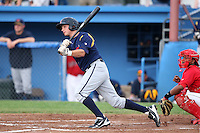 State College Spikes third baseman Chase Lyles (13) during a game vs. the Batavia Muckdogs at Dwyer Stadium in Batavia, New York June 26, 2010.   State College defeated Batavia 9-8.  Photo By Mike Janes/Four Seam Images