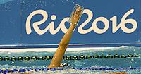 glass hand 1<br /> Traning<br /> Rio de Janeiro 06-08-2016 XXXI Olympic Games <br /> Olympic Aquatics Stadium <br /> Swimming 04/08/2016<br /> Photo Giorgio Scala/Deepbluemedia/Insidefoto