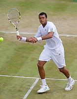 24-06-10, Tennis, England, Wimbledon, Jo-Wilfried Tsonga