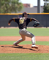 Jagger Haynes - San Diego Padres 2021 extended spring training (Bill Mitchell)