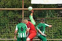 Rahmen Paylan (Klein-Gerau) haelt - 15.08.2021 Büttelborn: SV Klein-Gerau vs. SKG Bauschheim, A-Liga