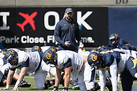 BERKELEY, CA - Saturday, April 8, 2017:  Cal Bears Football Spring Practice.